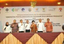 8 Kementerian Sepakat Garap Program Desa Produktif