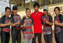 Pegulat Putri Pelatnas Asian Games Berlatih di Lumajang
