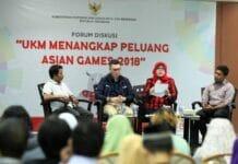 Asian Games Buka Peluang UMKM Tembus Pasar Ekspor
