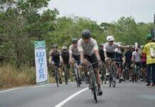 Diguyur Hujan, Tour de Bintan 2019 Tetap Meriah dengan Tari Melayu