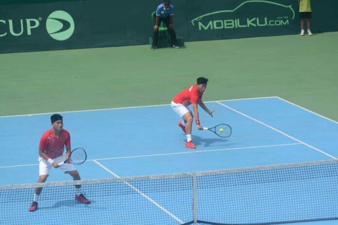 Kalah dari Selandia Baru, Davis Cup Indonesia Jalani Playoff Grup 2