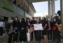 Ratusan Notaris dan PPAT DKI Jakarta Gelar Aksi di PN Jaksel
