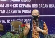 Gelar Gathering Badan Usaha, BPJS Kesehatan Jakarta Pusat Beri Penghargaan Bagi Badan Usaha Patuh