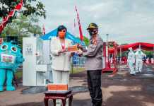 Pengusaha Maya Miranda Ambarsari Donasikan Rapid Test ke Korlantas Polri, Cegah Penyebaran Covid-19