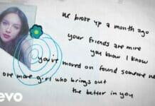 Lirik Lagu Happier Olivia Rodrigo